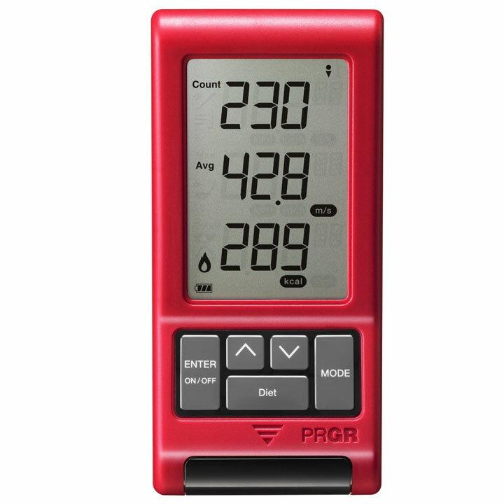 プロギア NEW RED EYES POCKET送料無料 計測器 スピード測定 ゴルフ 測定器 練習 飛距離up対策に ゴルフ計測器 PRGR レッドアイズポケット スピードメーター スピード測定器【D】