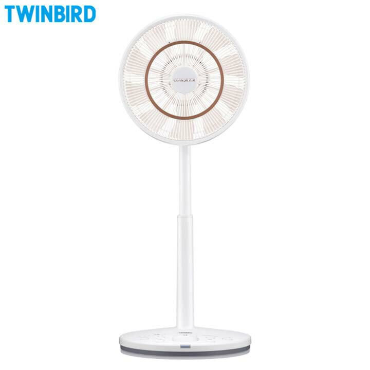 ツインバード TWINBIRD コアンダエア ホワイト EF-DJ68W送料無料 扇風機 おしゃれ サーキュレーター リモコン タイマー 首振り 扇風機サーキュレーター コアンダエアー リモコン扇風機【TC】【TW】【●10】