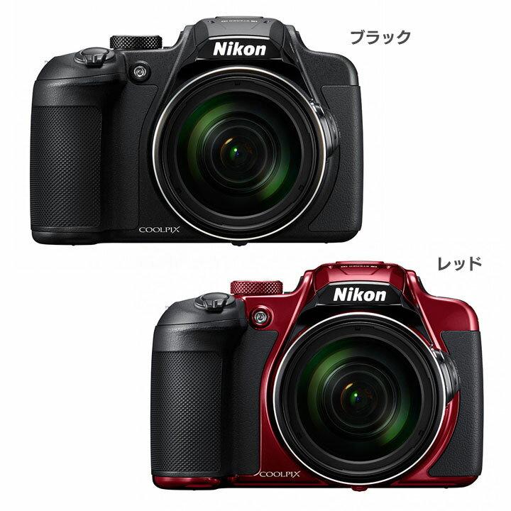 COOLPIX B700BK送料無料 デジタルカメラ カメラ 写真 デジカメ ニコン ブラック・レッド【D】
