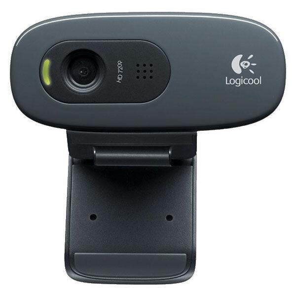 HD ウェブカム ブラック C270ウェブカメラ webカメラ マイク付き スカイプ テレビ電話 パソコン ロジクール 【D】