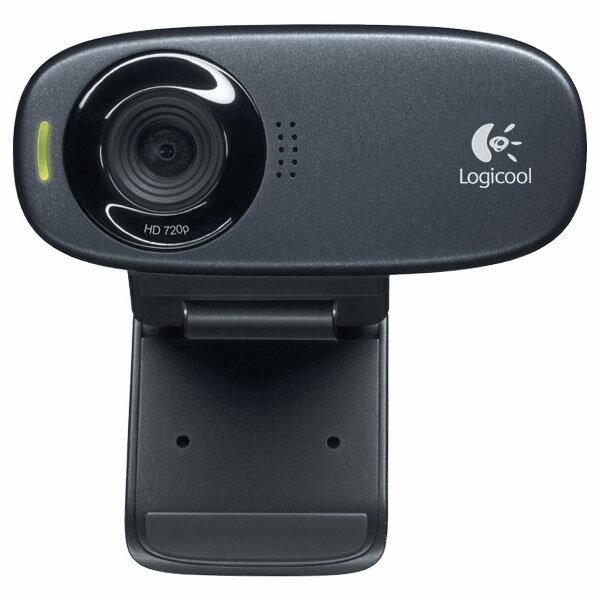 HD ウェブカム ブラック C310ウェブカメラ webカメラ マイク付き スカイプ テレビ電話 パソコン ロジクール 【D】