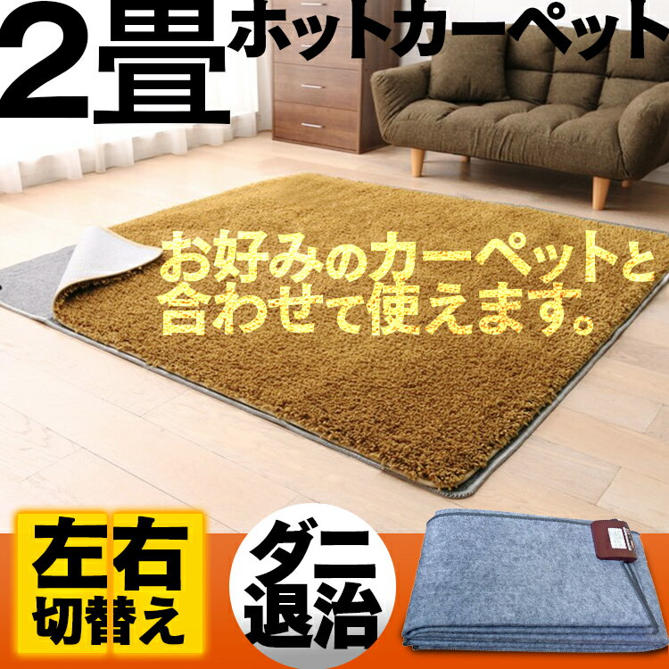 【あす楽】ホットカーペット 本体 2畳 HT-20NP 電気カーペット ホットマット 2畳 暖房 三京 送料無料 【D】【拡】