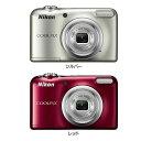 デジタルカメラ A10 Nikon ニコン光学5倍 コンパクトデジタルカメラ COOLPIX ニコンクールピクスA10 単3形電池対応 気軽 高画質 撮影 キレイ 有効画素数1614万画素 シルバー・