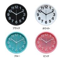 置き時計インテリアカラフルおしゃれオシャレポップユニークシンプル円丸い見やすい分かりやすいカワイイクロックかわいい置時計リアム不二貿易