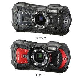 リコー 防水防塵デジタルカメラ WG60送料無料 リコー 耐衝撃 防水 防滴 コンパクトデジタルカメラ リコー ブラック レッド【D】