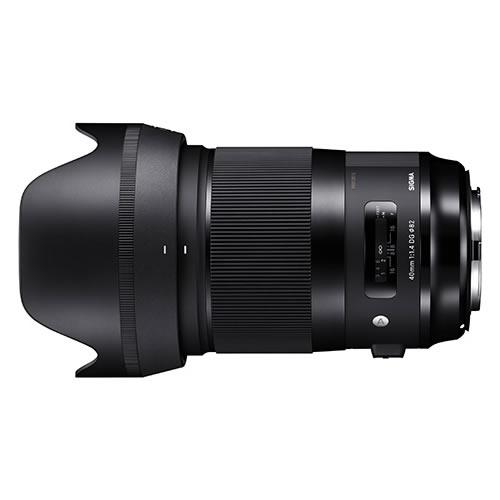 シグマ 標準レンズ 40mm F1.4 DG HSM (A) ニコン用(快適家電デジタルライフ)