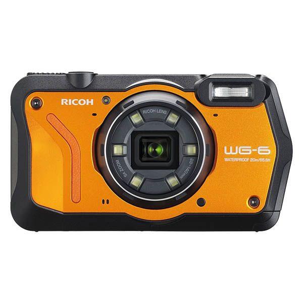 リコー (RICOH) 防水・防塵・耐衝撃・防寒 デジタルカメラ WG-6 オレンジ(快適家電デジタルライフ)