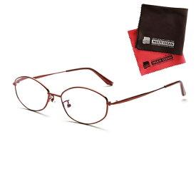 老眼鏡 ピントグラス 小松貿易 PINT GLASSES 703RE (PG-703-RE) 女性用 (老眼度数:+0.60〜2.50D) (クロスセット)