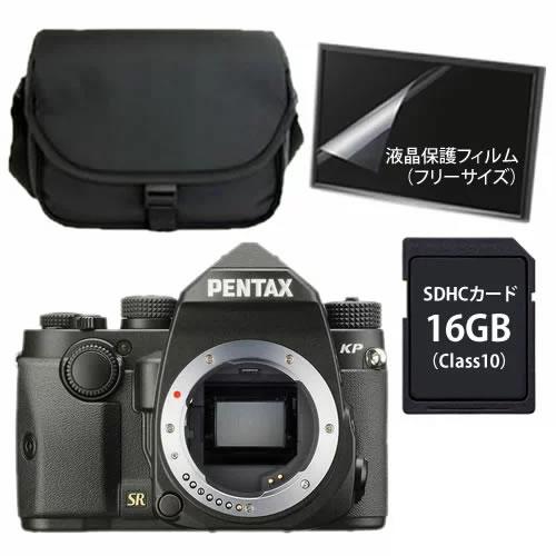 【純正カメラバッグセット】 リコー デジタル一眼 PENTAX KP ブラック ボディ 【ラッピング不可】【快適家電デジタルライフ】