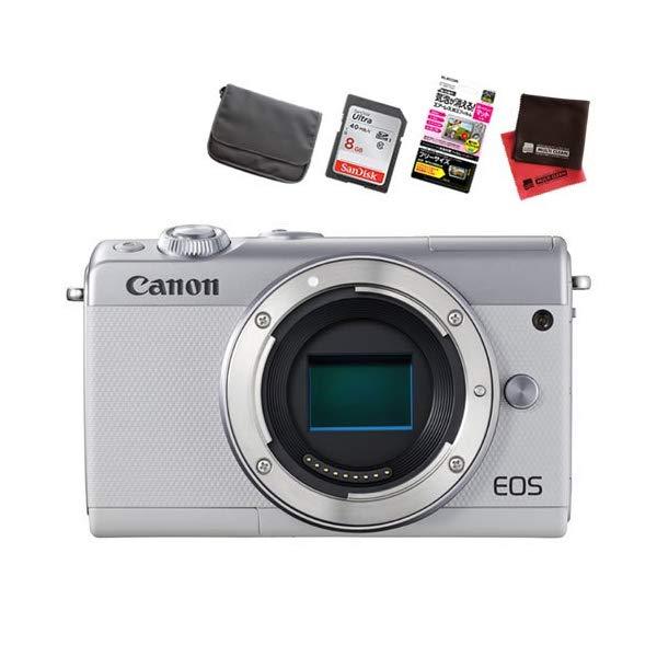 【お買い得セット!】キヤノン EOS M100 ボディ ミラーレスカメラ [カラー選択式][Canon]【快適家電デジタルライフ】