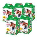 【送料無料】富士フィルム チェキフイルム instax mini 2パック品 JP2(20枚入り)×5個セット [100枚入] (快適家電デ…