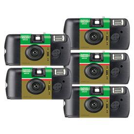 【5個セット】フジフイルム 写ルンです シンプルエース 27枚撮り LF S-ACE SP FL 27SH 1(写るんです)(快適家電デジタルライフ)