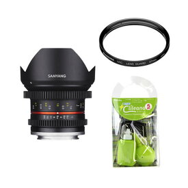 [レンズフィルター&クリーニングセット付き! ]交換レンズ サムヤン 12mm T2.2 フジX用(快適家電デジタルライフ)