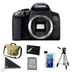 (7点セット!)キヤノン デジタル一眼レフカメラ EOS Kiss X10i ブラック ボディー (3923C001)(キャノン/Canon)(快適家電デジタルライフ)