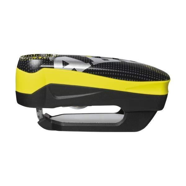 【ディスクロック】[ABUS/アブス] Detecto(ディティクト) 7000 RS1 pixel yellow 10mm BLACK/YELLOW【アバス】【快適家電デジタルライフ】