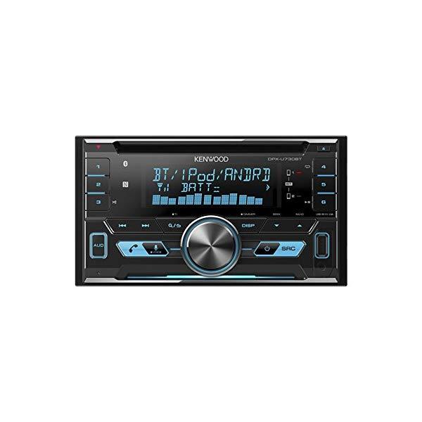 ケンウッド [KENWOOD] DPX-U730BT MP3/WMA/AAC/WAV/FLAC対応CD/USB/BTレシーバー 2DINサイズ (カーオーディオ)【ラッピング不可】【快適家電デジタルライフ】