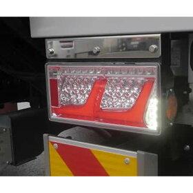 【送料無料】【左右セット】[KOITO]LEDRCL-24R2RR/L中・大型トラック用LEDテールランプオールLEDリアコンビネーションランプ2連タイプ小糸製作所【大型カー用品】
