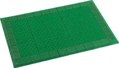 【代引不可】【メーカー直送】 テラモト 【床材用品】 テラエルボーマット900×1500mm緑 MR0520521 (3685462)【ラッピング不可】【快適家電デジタルライフ】