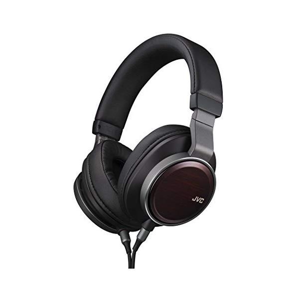 JVCケンウッド ステレオヘッドホン WOOD 02 HA-SW02 [バンドポータブルヘッドホン]【快適家電デジタルライフ】