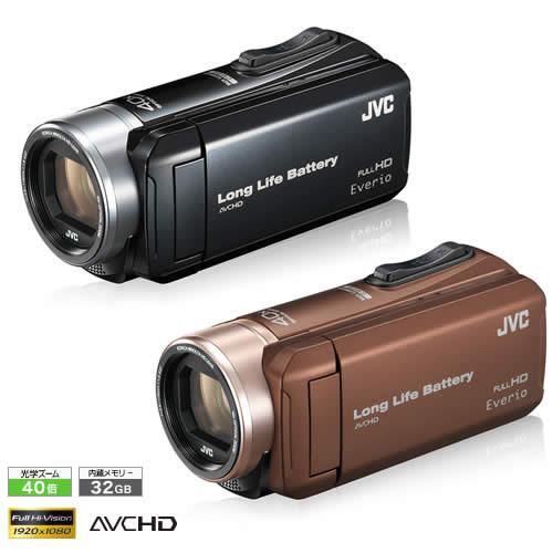 【当店オリジナルモデル】JVCケンウッド GZ-L500 ハイビジョンメモリームービー [Everio/エブリオ][ムービーカメラ][ビデオカメラ][GZL500][カラー選択式]