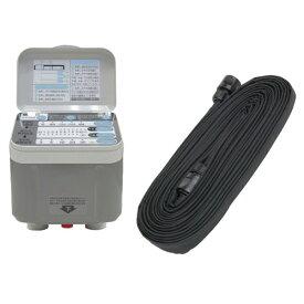 (代引き不可)(ガーデン用品セット)藤原産業 セフティ-3 自動水やり器 SAW-1 + セフティ-3 自在灌水ホース 15M セット(ラッピング不可)