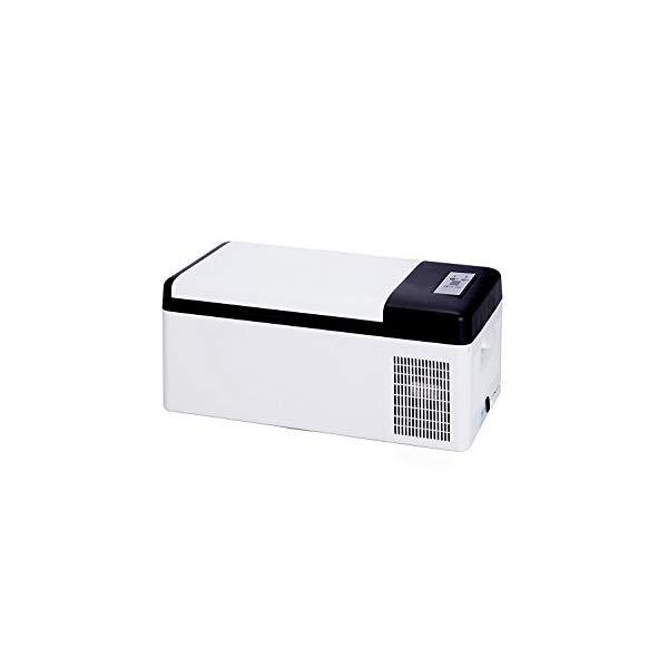 (在庫限り:車載クーラーボックス 15L)-20℃の冷凍も可能!! ベルソス VS-CB015 車載対応 保冷庫 ホワイト (VSCB015) (ラッピング不可)(快適家電デジタルライフ)