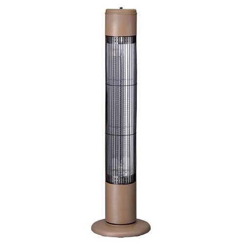 スリーアップ タワーカーボンヒーター NOPPO (ノッポ) CB-T1831BR モカブラウン (暖房機/電気ストーブ)(CBT1831BR)(Three-up) (ラッピング不可)