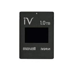 maxell(マクセル)iVDR-SカセットハードディスクM-VDRS1T.E.BK.Kブラック[簡易パッケージ][記憶容量1TB]【快適家電デジタルライフ】