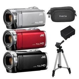 【得々セット】JVC(ビクター) ハイビジョンメモリームービー GZ-E880 [Everio/エブリオ][[送料無料]ムービーカメラ][ビデオカメラ][JVCケンウッド](快適家電デジタルライフ)