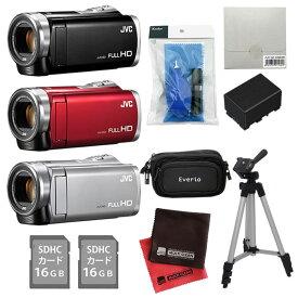 (もりもりセット)JVCケンウッド ハイビジョンメモリームービー GZ-E880 [Everio/エブリオ][ムービーカメラ][ビデオカメラ](快適家電デジタルライフ)
