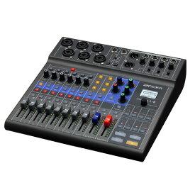 Livetrak L-8 ZOOM ミキサー ズーム ライブトラック ライブミキサー オーディオミキサー (ラッピング不可) (快適家電デジタルライフ)