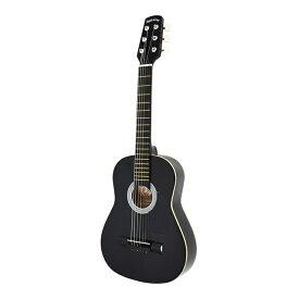 (メーカー直送)(代引不可) SepiaCrue(セピアクルー) ミニアコースティックギター W-50/BK ブラック(ソフトケース付) (ラッピング不可)(W50)