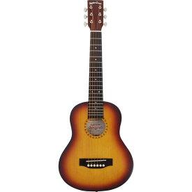 (メーカー直送)(代引不可) SepiaCrue(セピアクルー) ミニアコースティックギター W-60/TS サンバースト(ソフトケース付) (ラッピング不可)(W60)
