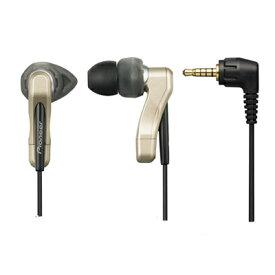 パイオニア VMR-AE08-N VMR-M800/M700専用イヤホンマイク(両耳用) ゴールド (フェミミ)(快適家電デジタルライフ)(部品コード:WXX1502)