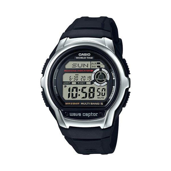 【国内正規品】 CASIO(カシオ) 【腕時計】 WV-M60-1AJF WAVE CEPTOR[ウェーブセプター][WVM601AJF]【電波時計 樹脂バンド デジタル メンズ】【快適家電デジタルライフ】