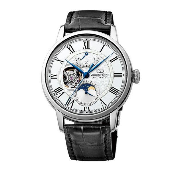 【国内正規品】[オリエント]ORIENT 腕時計 RK-AM0001S [オリエントスター]ORIENTSTAR メカニカルムーンフェイズ 機械式 メンズ【革バンド 多針アナログ表示 自動巻き】【快適家電デジタルライフ】