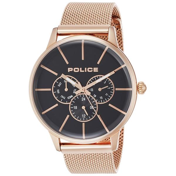 POLICE(ポリス) メンズ 腕時計 SWIFT(スイフト) 14999JSR-02MM(ステンレスバンド クオーツ アナログ)(正規輸入品)(快適家電デジタルライフ)