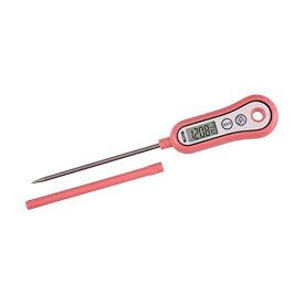 (メール便可:3点まで)タニタ デジタル温度計 料理用スティック温度計TT-533 (フランボワーズピンク) [tt533][TANITA](快適家電デジタルライフ)