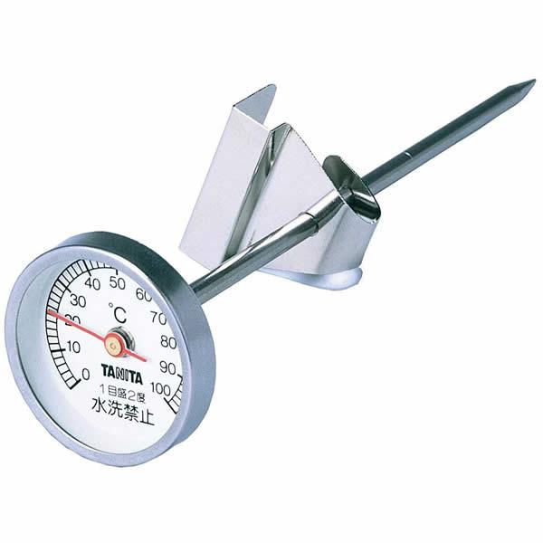 タニタ 料理用温度計 5496B (クロム) [TANITA]【快適家電デジタルライフ】