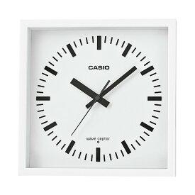 (カシオ)CASIO 電波掛時計 IQ-810J-7JF (IQ810J7JF) 掛置兼用 自立スタンド付き(壁掛時計/クロック/電波時計)(快適家電デジタルライフ)