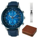 【4本用時計ケース付セット】(国内正規品)(セイコー)SEIKO 腕時計 AGAW713 (ワイアード)WIRED メンズ wena コラボレ…