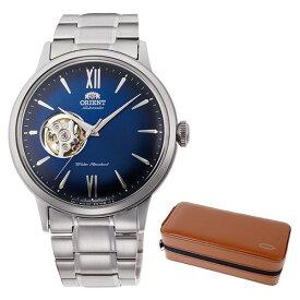 (ケースセット)(国内正規品)(オリエント)ORIENT 腕時計 RN-AG0017L (クラシック)CLASSIC メンズ セミスケルトン(ステンレスバンド 自動巻き(手巻付) アナログ)(快適家電デジタルライフ)