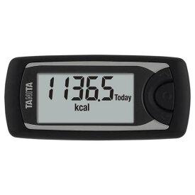 TANITA(タニタ) 【活動量計】 カロリズム AM-161 ブラック 黒 [AM161 AM-161-BK] 【Bluetooth対応】【体組成計と連携】【快適家電デジタルライフ】