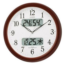 CITIZEN シチズン 電波掛時計 ネムリーナカレンダーM01(4FYA01-006)【電波時計】【新生活/引っ越し/新築祝い/お祝い返し】【快適家電デジタルライフ】