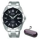 (時計ケースセット)(国内正規品)(セイコー)SEIKO 腕時計 AQGD401 (アルバ ソーラー)ALBA SOLAR メンズ(ステンレスバンド ソーラー アナログ)(快適家電デジタルライフ)