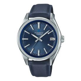 (国内正規品)(カシオ)CASIO 腕時計 OCW-T200SLE-2AJR (オシアナス)OCEANUS メンズ Bluetooth搭載(牛革バンド GPS電波ソーラー アナログ)(快適家電デジタルライフ)