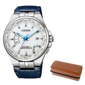 (時計ケースセット)(国内正規品)(シチズン)CITIZEN 腕時計 CB0160-18A シチズンコレクション メンズ(牛革バンド ソーラー アナログ)(快適家電デジタルライフ)