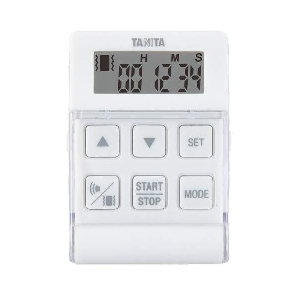 取り寄せ:納期1週間程度(メール便可:2点まで)TANITA[タニタ] デジタルタイマー バイブレーションタイマー24時間計 クイック TD-370N (ホワイト) [TD370NWH](快適家電デジタルライフ)