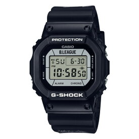 カシオ CASIO 腕時計 DW-5600BLG21-1JR Gショック G-SHOCK メンズ バスケットボール Bリーグコラボ クオーツ 樹脂バンド デジタル(国内正規品)(快適家電デジタルライフ)