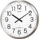 リズム時計 CITIZEN(シチズン)大型オフィス時計【2針電波掛時計】パルフィス F4MY660-N19【快適家電デジタルライフ】
